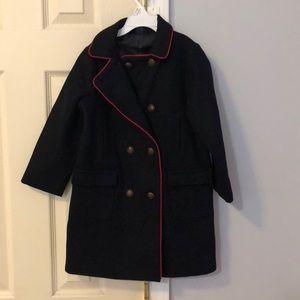 NWT Girls size 5 pea coat, babyGap